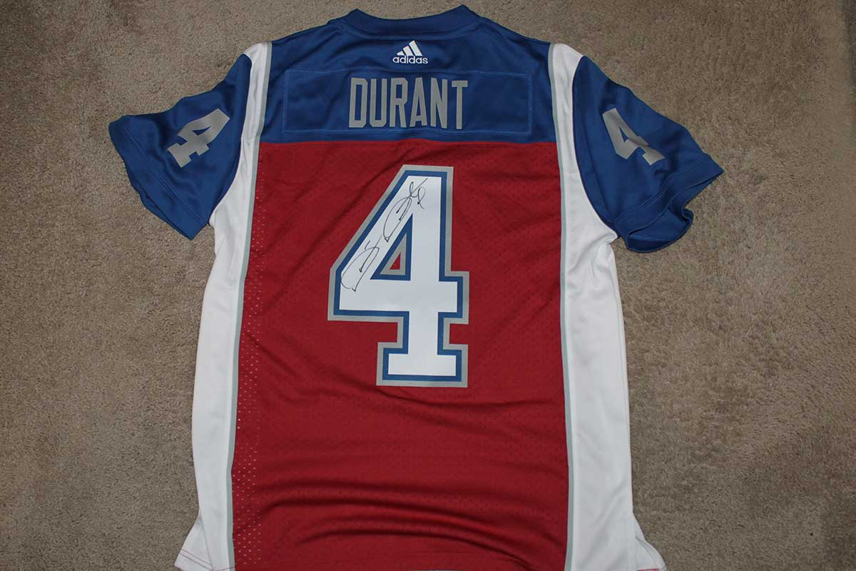 online store 9467e c9c54 Darian Durant Autographed Adidas Montreal Alouettes Jersey —  DarianDurant.com