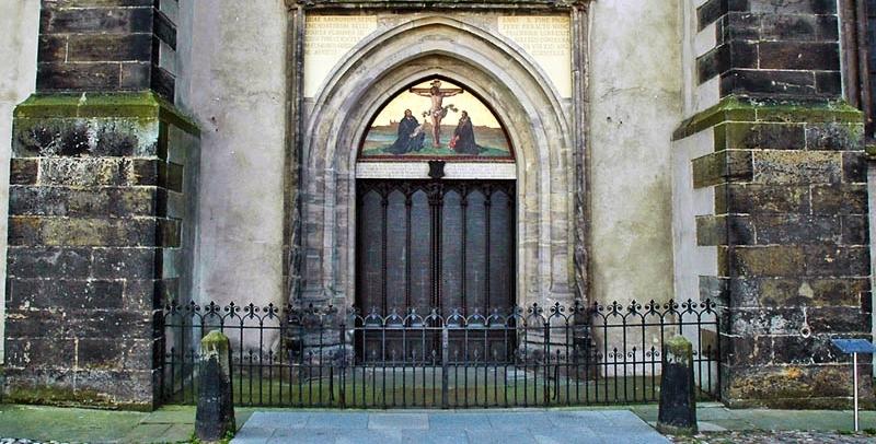 Wittenberg Trail Holy Cross Lutheran Church & Wittenberg Door - Sanfranciscolife