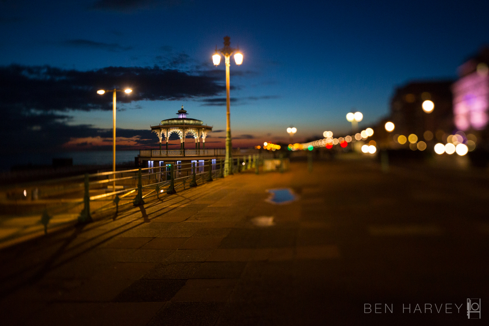 Brighton Band Stand at Twilight