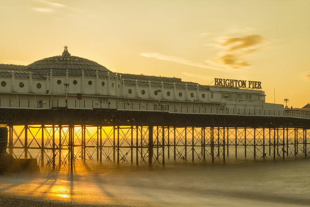 Palace Pier sunrise