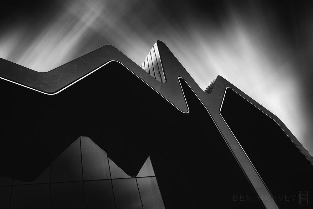 Riverside museum by Zaha Hadid