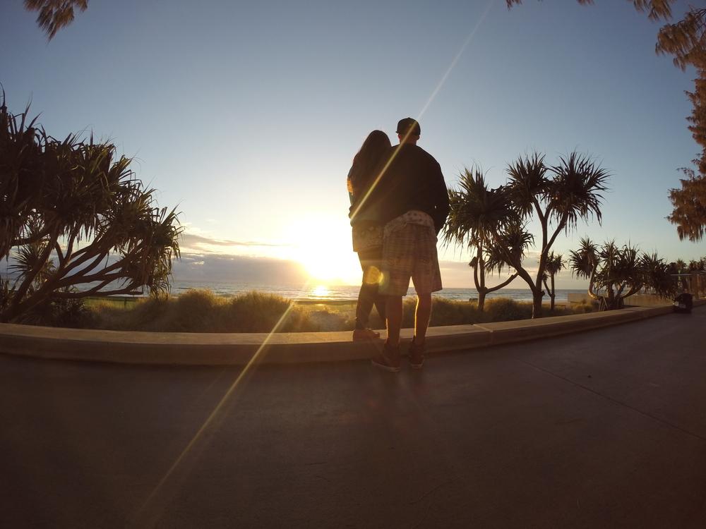 Gold Coast, Surfers Paradise sunrise