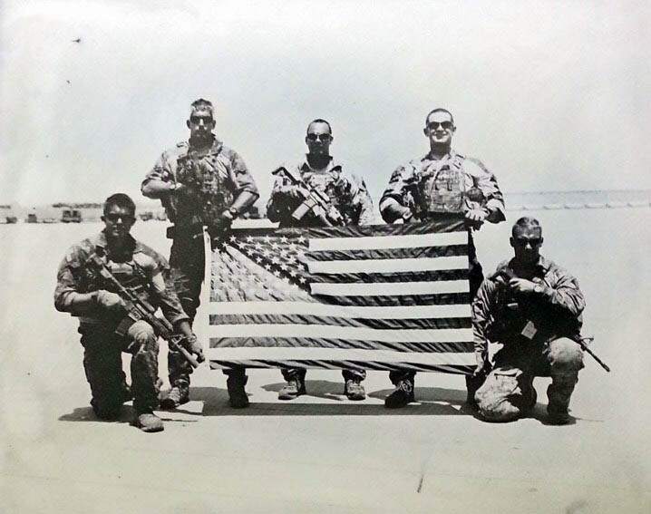 Moffett's own 131st ParaRescue Squadron in Afghanistan