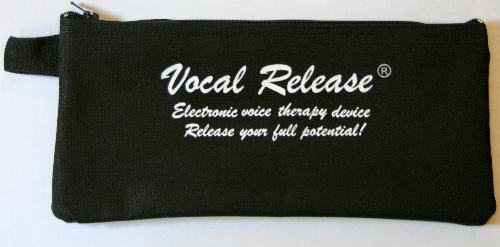 Vocal Release® antimicrobial fabric lined - Carrying pouch -