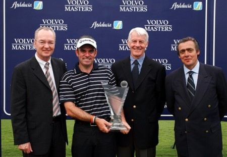 Paul McGinley with the 2005 Volvo Masters