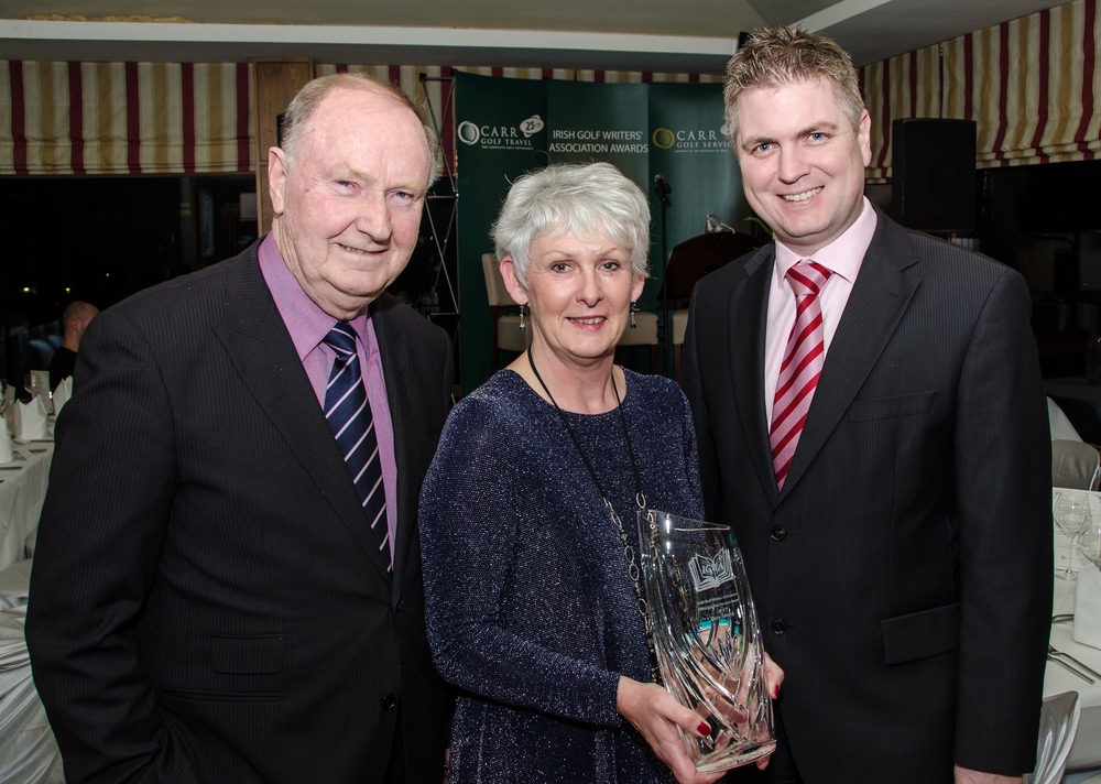 Claire Dowling winner of Distinguished Services to Golf Award Pic by Mel Maclaine.jpg