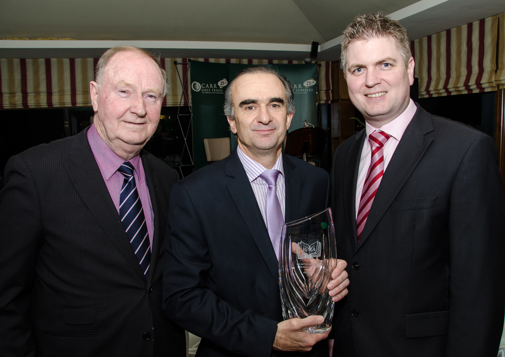 Colum Dunne accepting Amateur of the Year Award on behalf of his son Paul Dunne.jpg