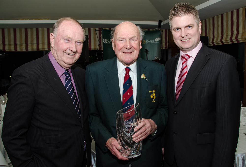 Ian Bamford winner of Distinguished Services to Golf for 2014 Pic by Mel Maclaine.jpg