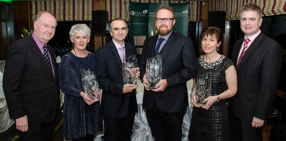 Irish Golf Writers' Association Awards winners 2016.jpg