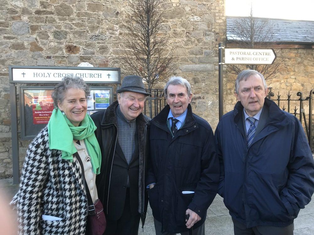 Patricia Davies, Dermot Gilleece, Michael McDonnell and John Redmond
