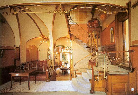 Kennisbank restauratiekennis restauratiekennis for Art nouveau interieur