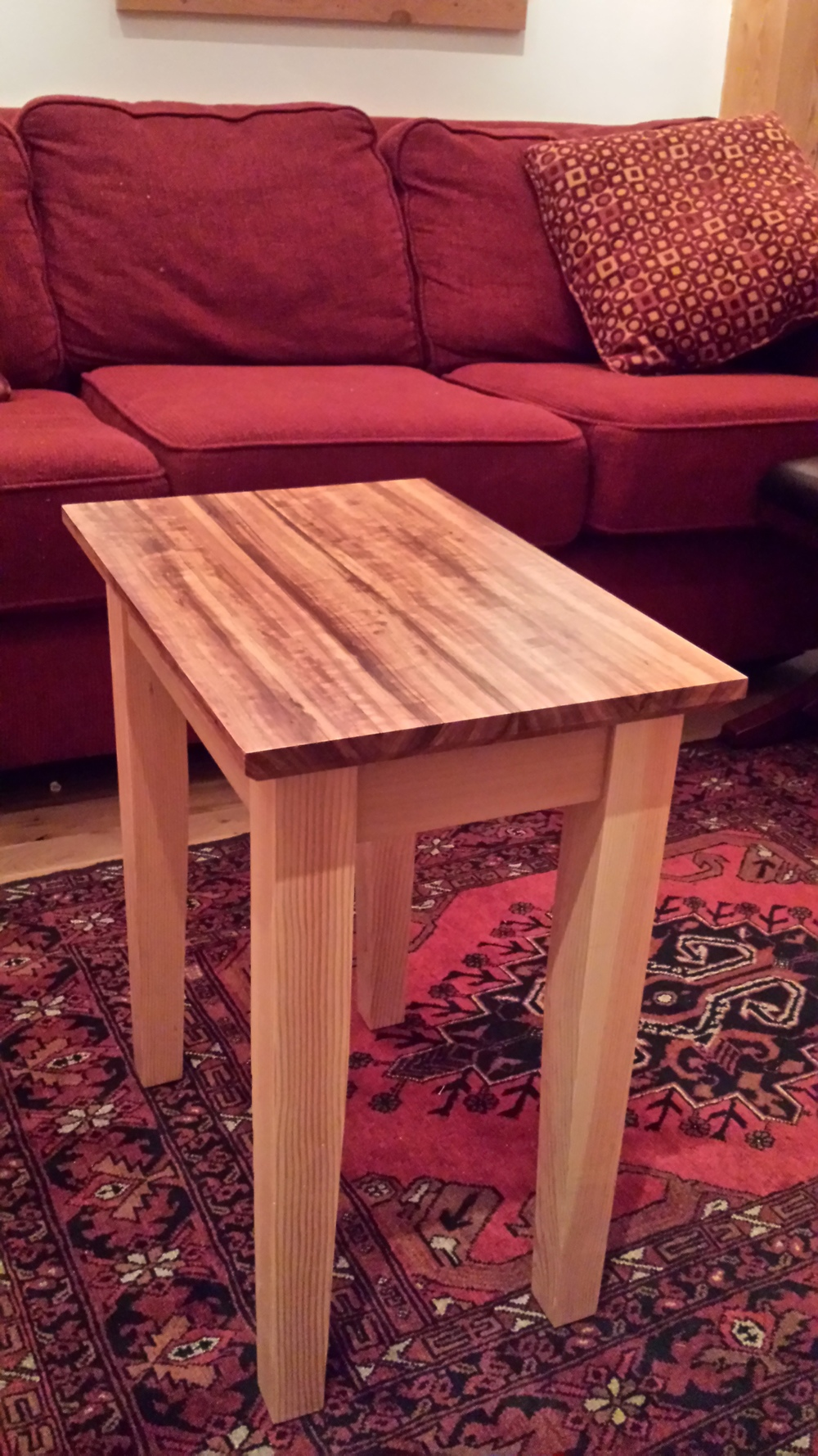 Mixed species side table