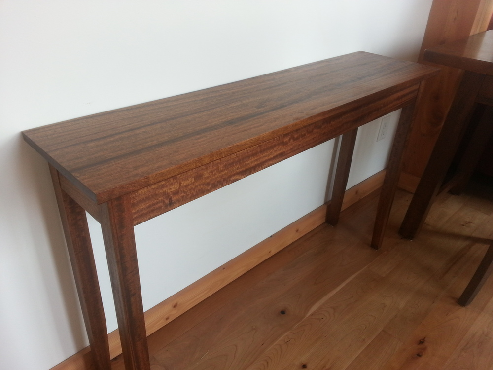 Stained Entry Table