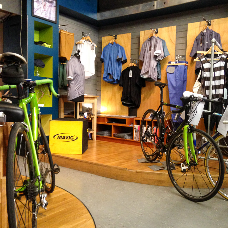 A quick image of part of the shop