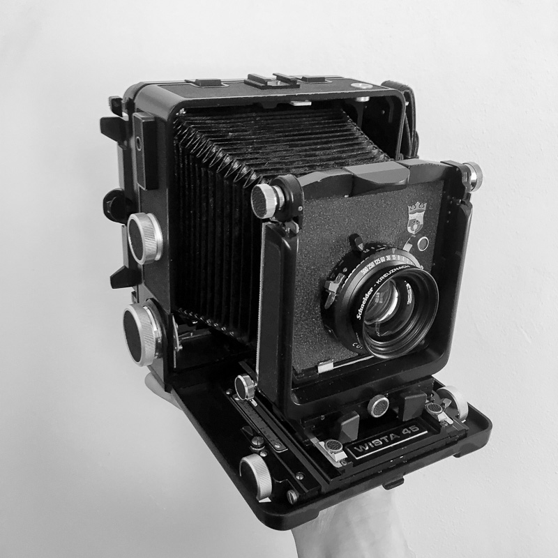 Wista 45SP 5x4in Technical Camera - Big, heavy, slow, but amazingly sharp film camera using 5x4in sheet film