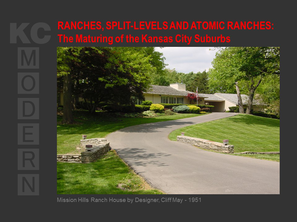 KCmodern Kansas City Public Library Ranch House Lecture