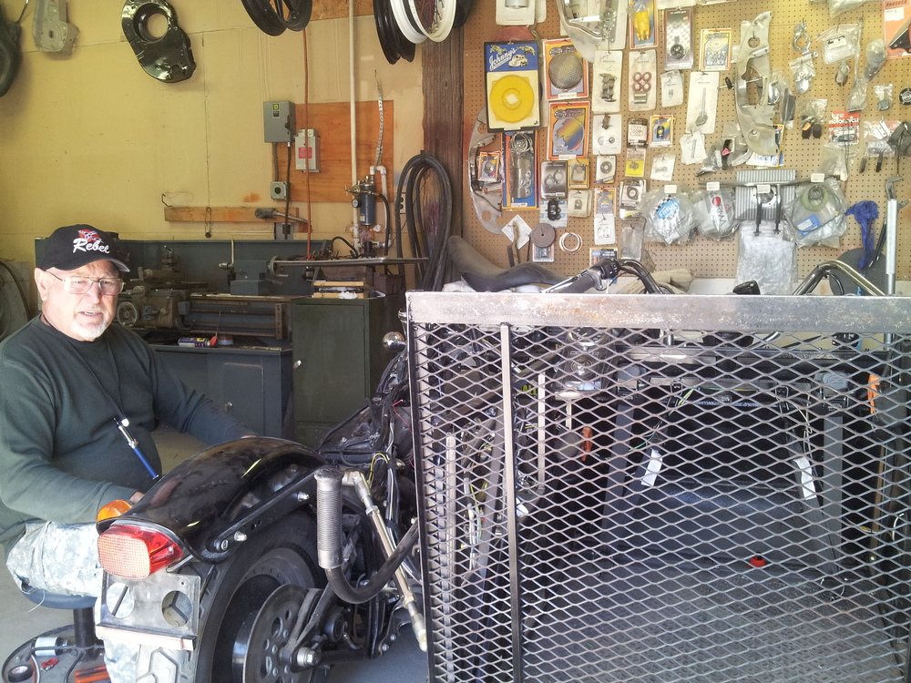 Custom fabrication by Bill Grable Wild Bill's Custom Shop 264 West Lisa Drive Chaparral, NM 88081 Phone: (575) 824-4141