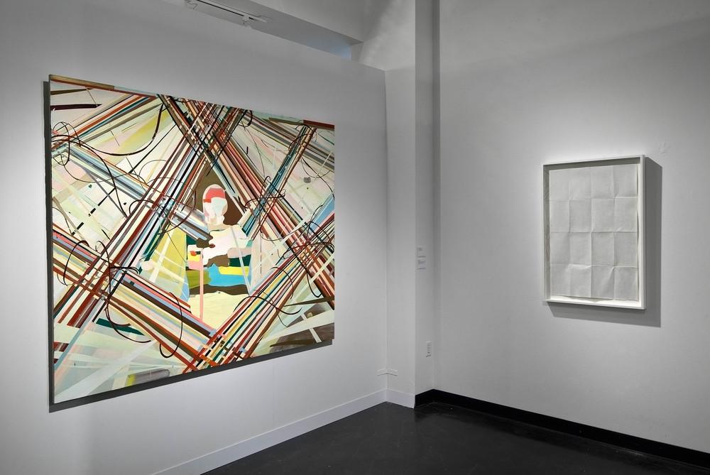 JBA, installation, de Balincourt, LeWitt.jpg