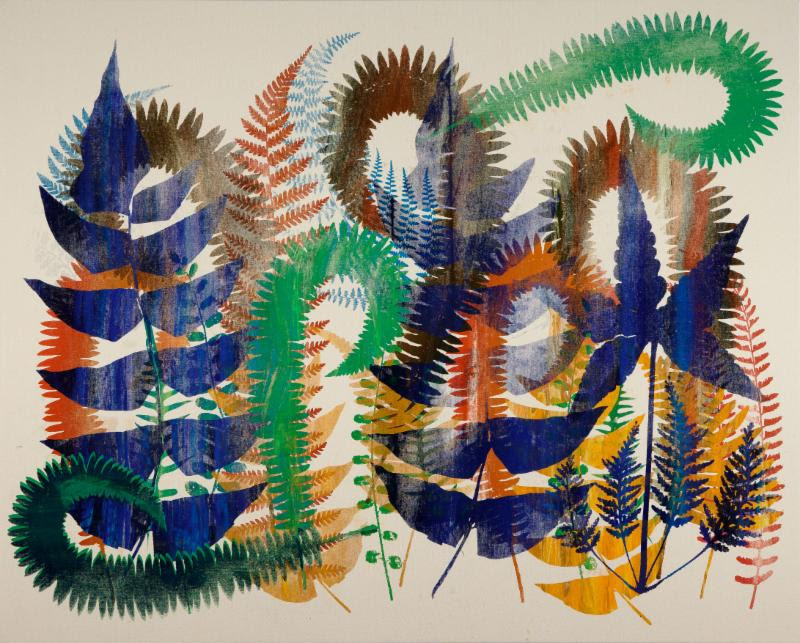 Philip Taaffe, Strata Nephrodium, 2014. © Philip Taaffe; Courtesy of the artist and Luhring Augustine, New York