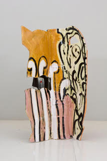 Betty Woodman, Aztec Vase #13, 2011. ©Courtesy of artist and Salon 94, New York