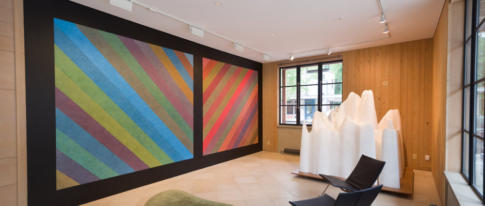 - Sol LeWitt Wall Drawing #701
