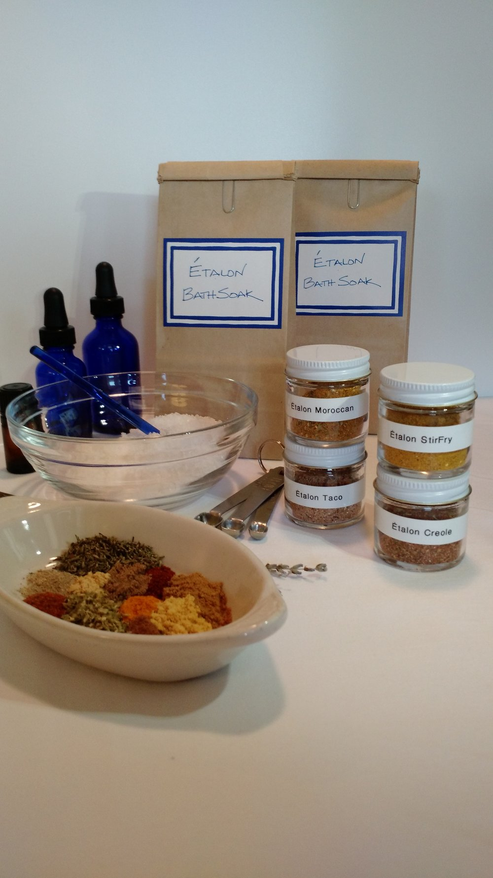 CUSTOM BATH SOAK & SPICE BLENDS