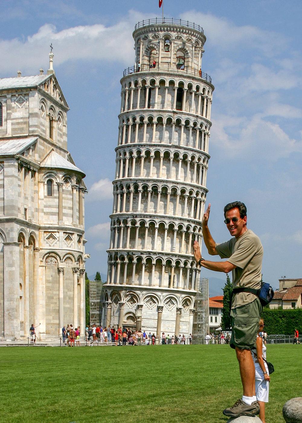 Pisa Italy (ha ha)