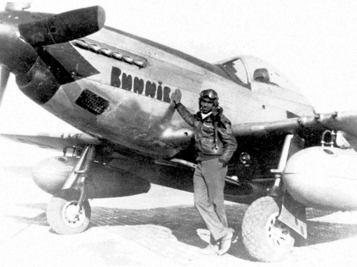 Captain Roscoe Brown, Squadron Commander, 1944