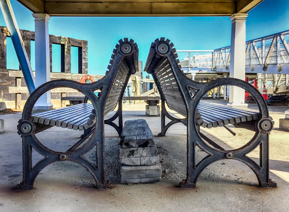 Symmetrical Benches