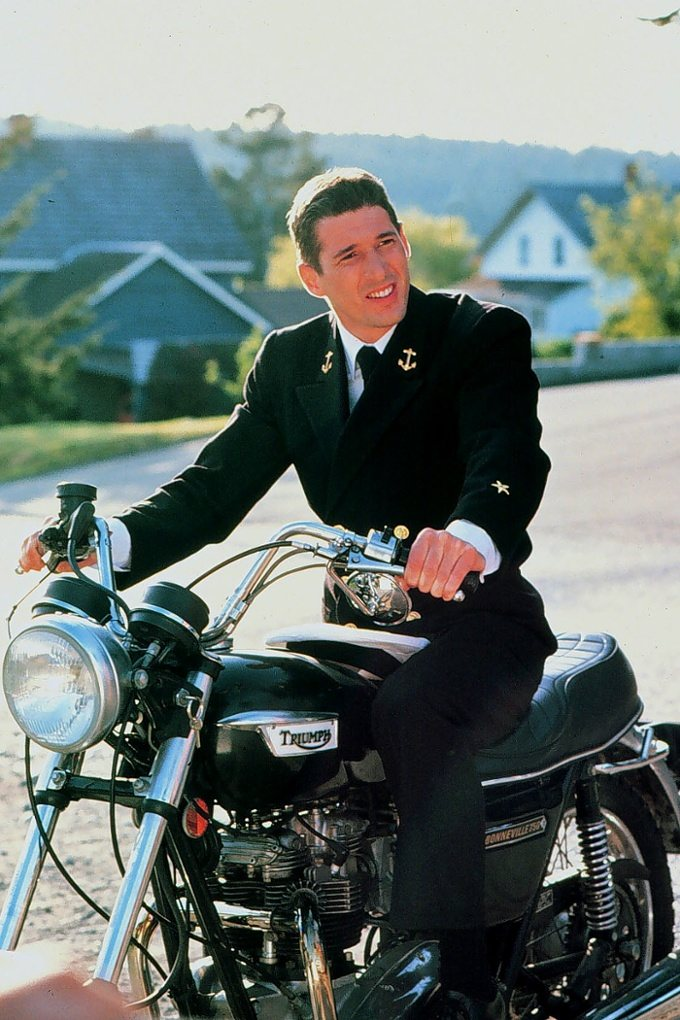 "Richard Gere in ""An Officer and a Gentleman"""