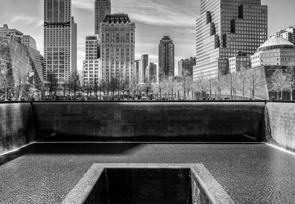 WTC Memorial b+w.jpg