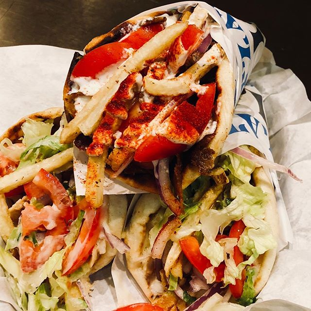 Keepin it 💯 #nickthegreek #gyros #greekfood