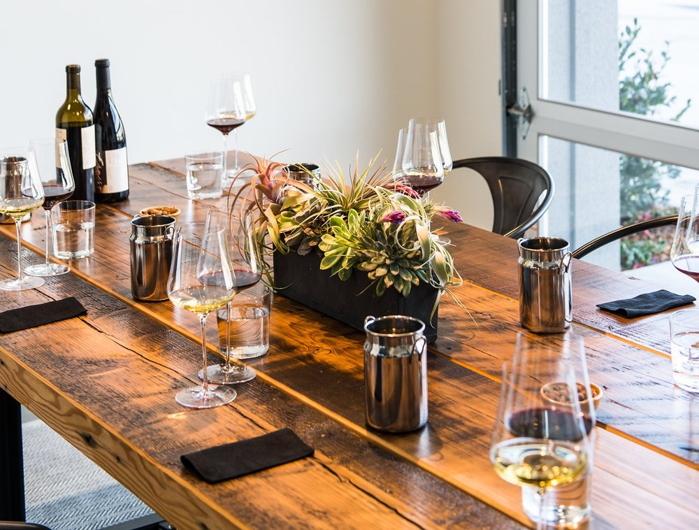 Tastings with Grand Cru Custom Crush Member Wineries - At Grand Cru Custom Crush, we are a high-tech wine making facility peopled with passionate winemakers who share a common set of values: integrity, excellence, and curiosity. To view options for tasting opportunities with individual member wineries please click the link below.