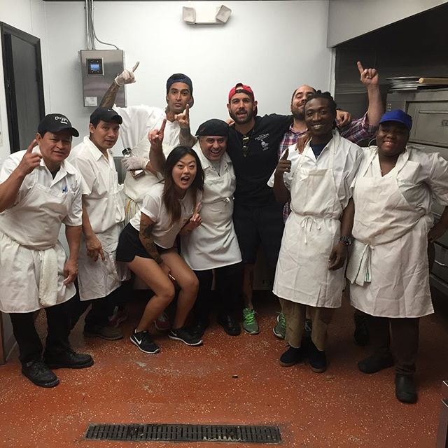 @pizzatropical .. #teambest #Miami. Thanks for all your hard work team 💯🔥🔥 see y'all soon @chino0881 @emilygrace951