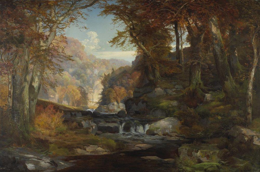 Thomas_Moran_-_A_Scene_on_the_Tohickon_Creek_Autumn_-_68.82_-_Minneapolis_Institute_of_Arts.jpg