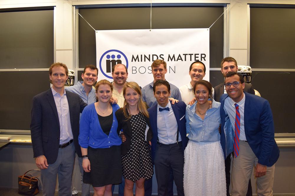 2015-2016 Minds Matter Boston Executive Committee