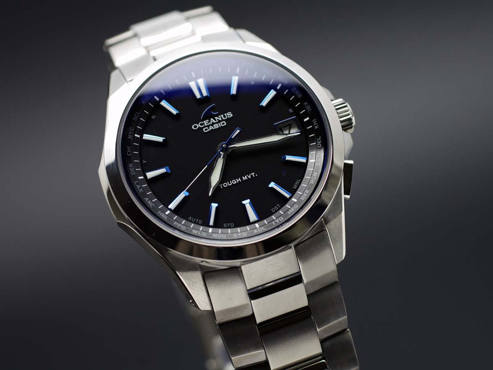 One of my favourites - the Casio Oceanus s100 - solar, atomic time-keeping - my day to day work watch