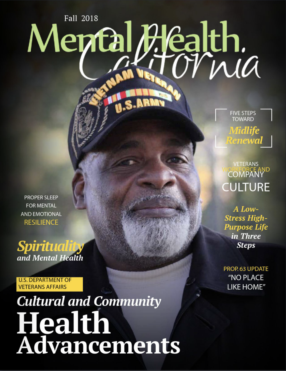 Fall 2018 Issue Of Mental Health California Magazine