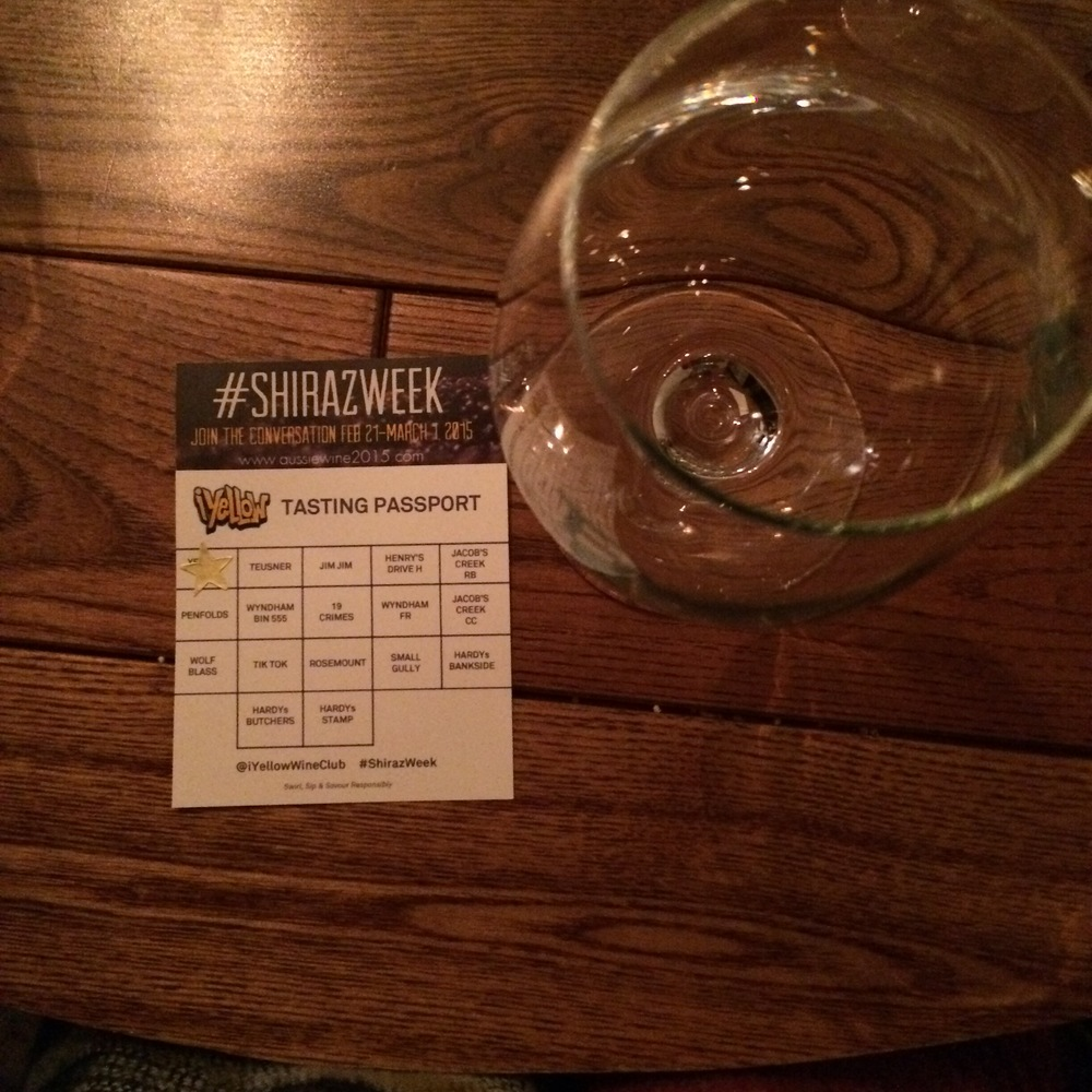 My #ShirazWeek Wine Passport