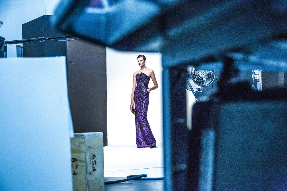 J Mendel   Behind the Scenes Campaign Shoot
