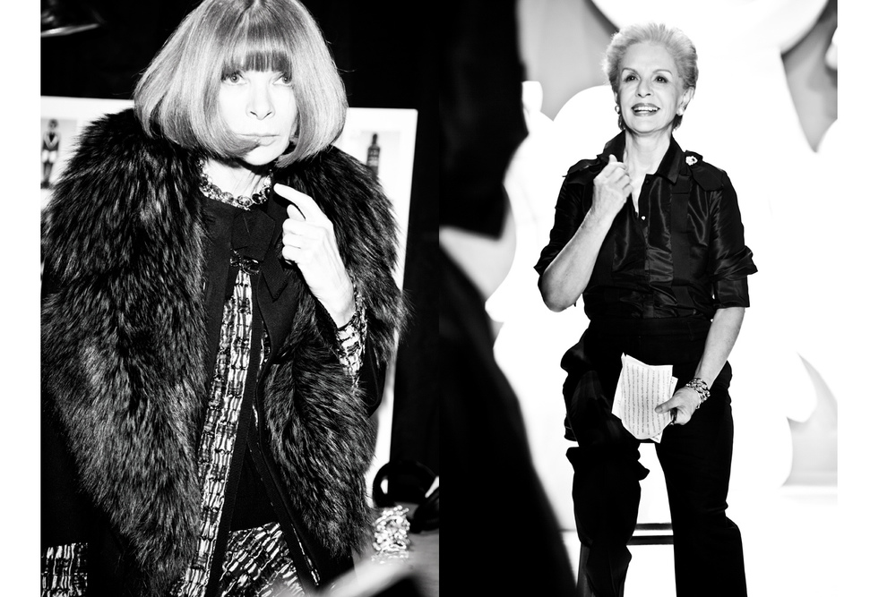 Anna Wintour/ Carolina Hererra