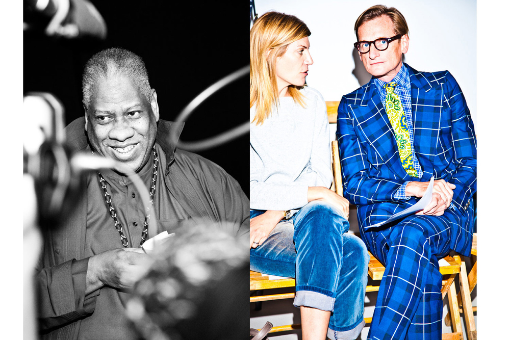 Andre Leon Talley/ Hamish Bowels