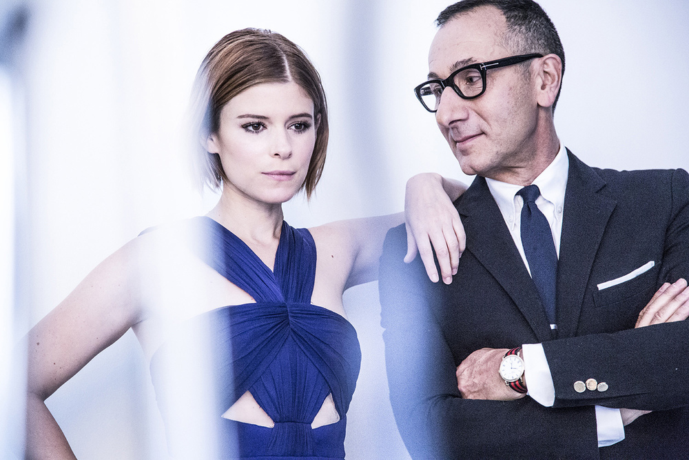 Hollywood Reporter   Kate Mara and Gilles Mendel