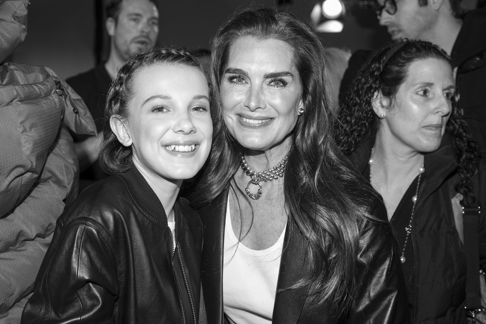 Millie Bobby Brown and Brooke Shields