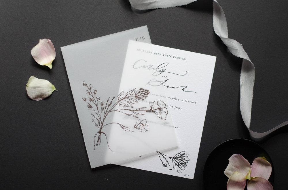 wedding stationery p a p e l co