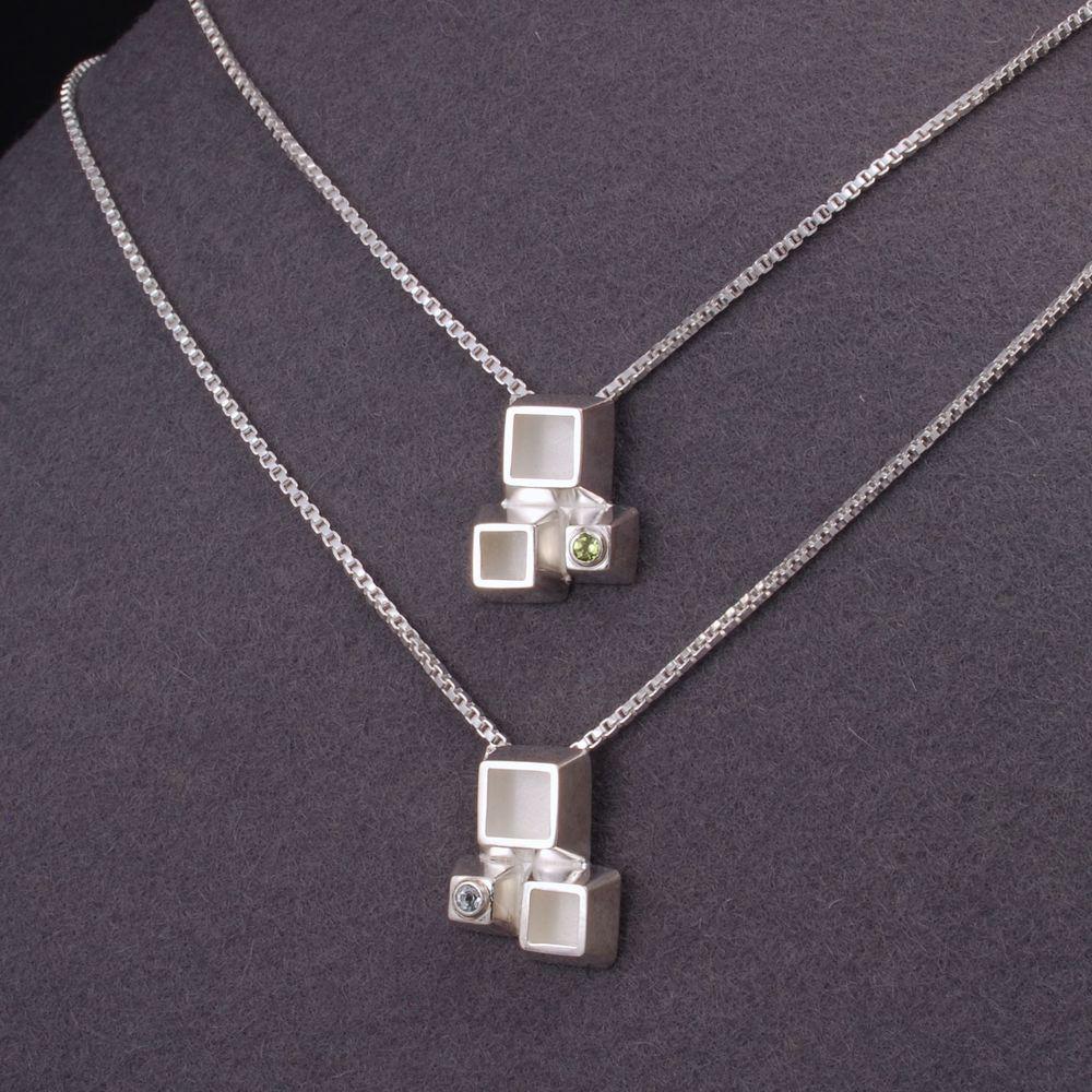 cube triplet pendants