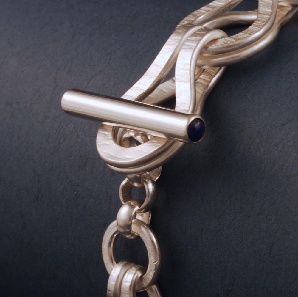 textured bracelet