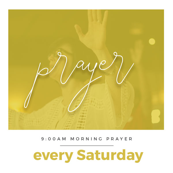 Join us for prayer - Saturday morning as we declare over our city, the community and the United one church! You can also catch it live online at newlifesa.net.