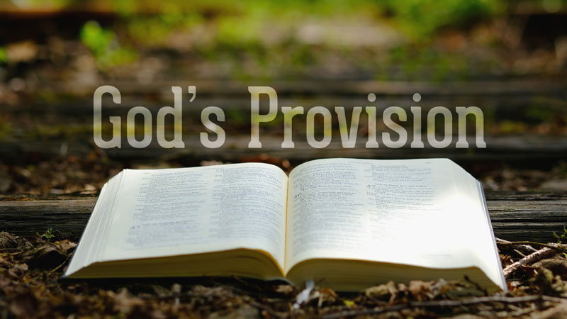 FEBRUARY 2018     Experiencing God's Provision - by Guest Speaker Pastor Craig Ashcraft     |  Audio