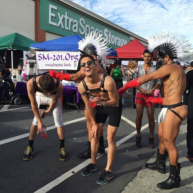 Folsom street fair #sanfrancisco #sf